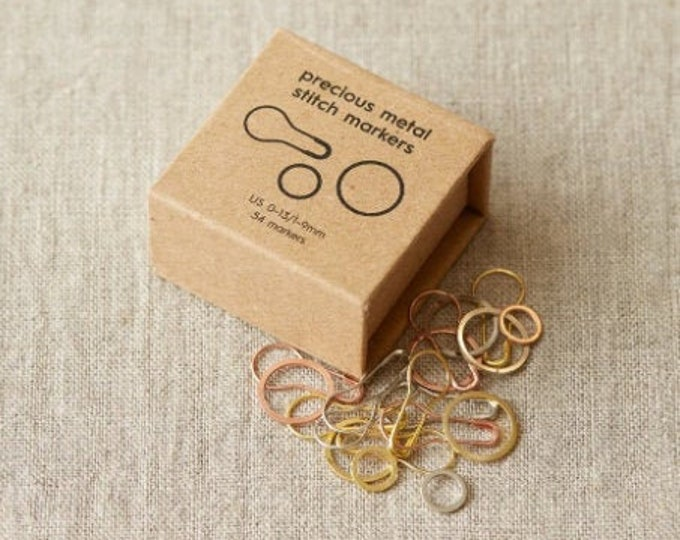 Precious Metal Stitch Markers - by CocoKnits