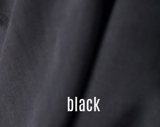 Tencel Twill in Black by Merchant & Mills