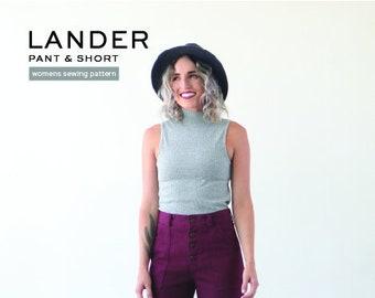 Lander Pant Pattern by True Bias