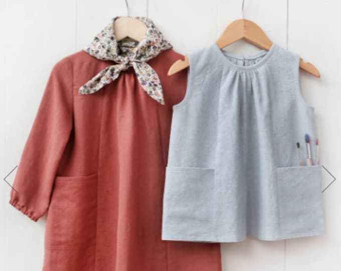 Baby + Child Smock Top + Dress Sewing Pattern by Wiksten