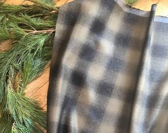 Italian Wool Plaid