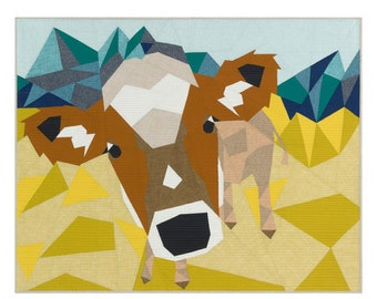 The COW ABSTRACTIONS quilt KIT