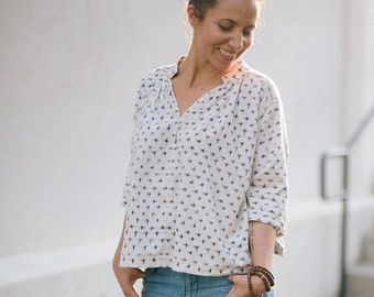 Matcha Top Paper Pattern by Sew Liberated
