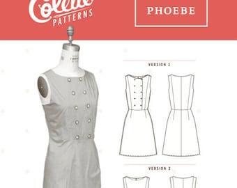 Phoebe Dress Pattern by Collette Patterns
