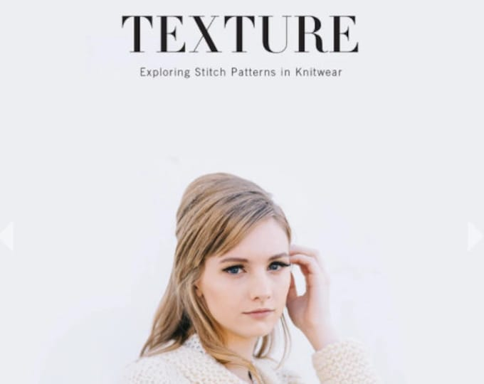 Texture: Exploring Stitch Patterns In Knitwear by Hannah Fettig for Quince and Co.