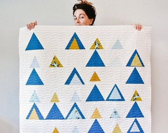 Quilt Kit: Mod Mountains from Suzy Quilts