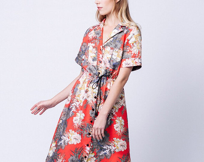 REETA Midi Shirt Dress Paper Pattern by Named