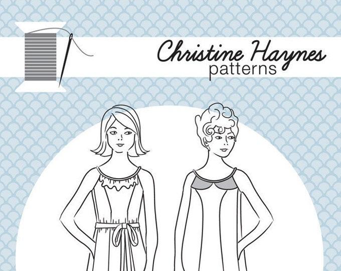Derby Dress Paper Pattern by Christine Haynes