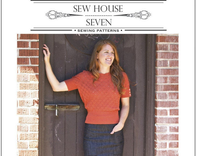 The Alberta Street Pencil Skirt- Sew House Seven