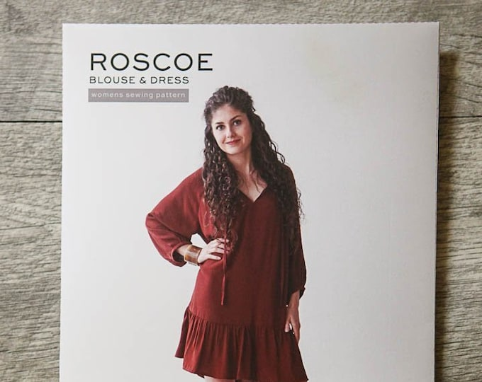 Roscoe Blouse and Dress by True Bias
