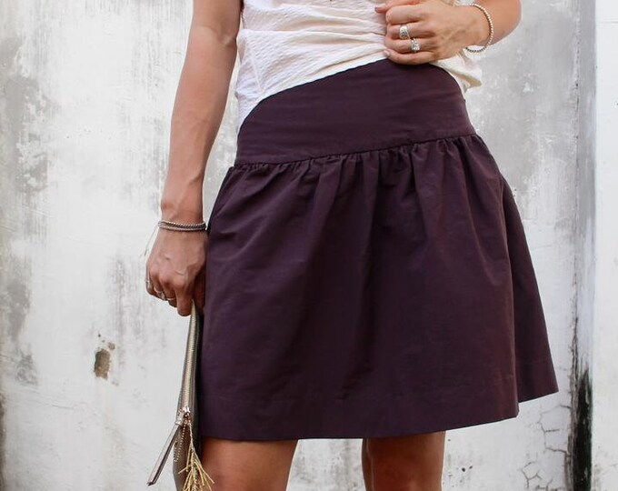 Drop Skirt Paper Pattern by Cali Faye
