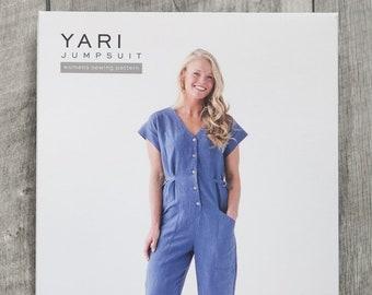 Yari Jumpsuit Paper Pattern by True Bias