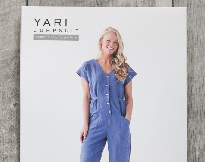 Yari Jumpsuit Paper Pattern by True Bias