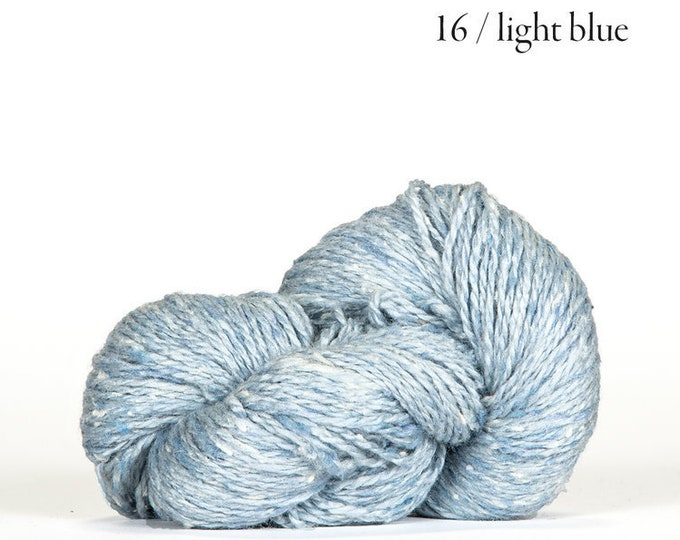 Sarah Tweed in Light Blue by BC Garn
