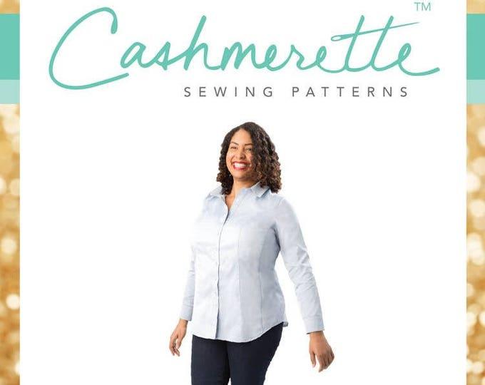Harrison Shirt- Cashmerette Patterns
