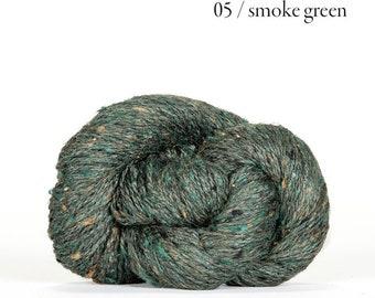 Sarah Tweed in Smoke Green by BC Garn