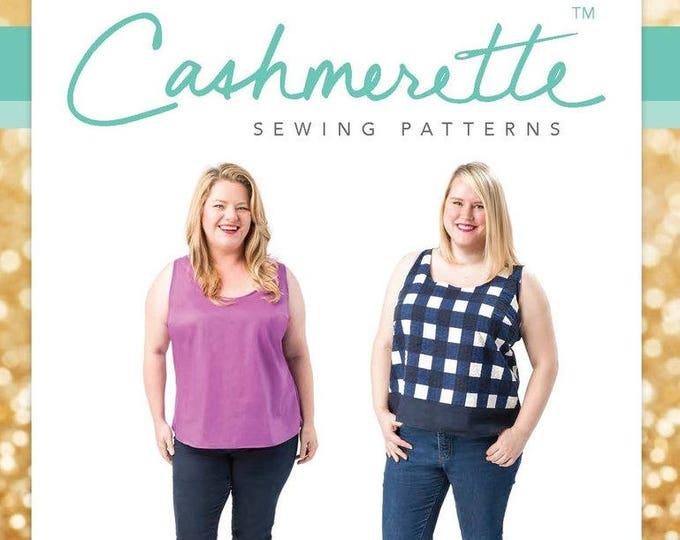 Springfield Top- Cashmerette Patterns