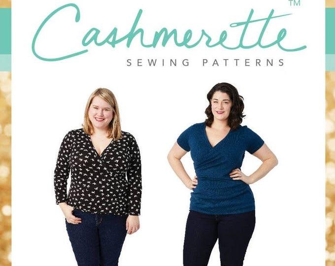Dartmouth Top- Cashmerette Patterns