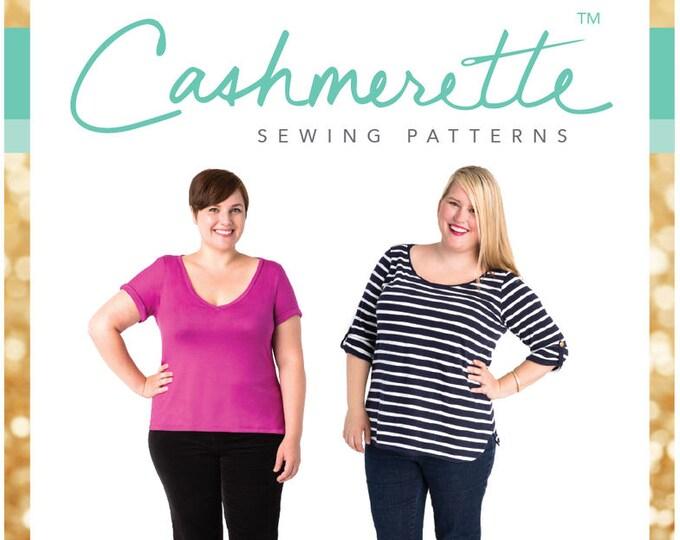 Concord T-Shirt - Cashmerette Patterns