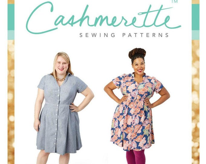 Lenox Shirtdress- Cashmerette Patterns