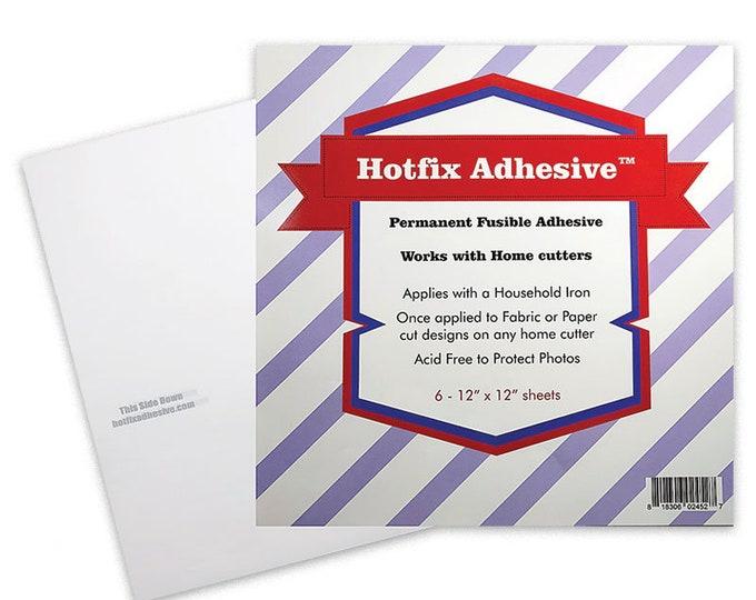 "Perm Fuse Adhesive Sheets by Hotfix Adhesive - 12"" x 12"" - 6pk"