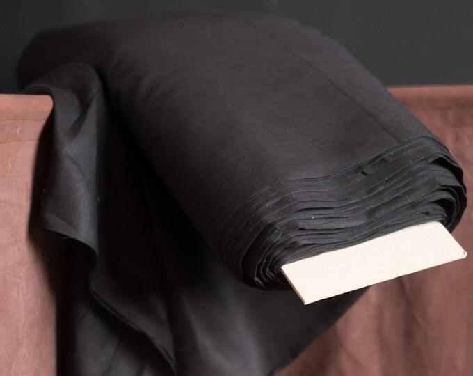 Cotton Muslin in Black by Merchant & Mills