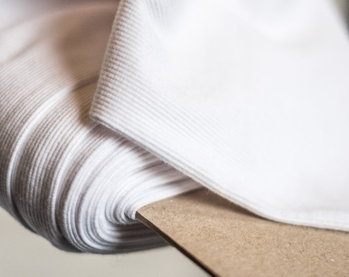 Cotton Rib White by Merchant & Mills
