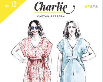 Charlie Caftan Paper Pattern- Closet Case Patterns
