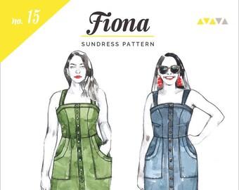 Fiona Sundress Paper Pattern- Closet Core Patterns