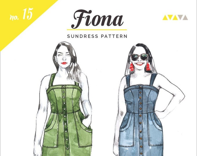 Fiona Sundress Paper Pattern- Closet Core Patterns
