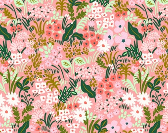 Meadow (pink fabric) from English Garden by Rifle Paper Co.