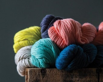 Mojave - Cotton + Linen Yarn - by Kelbourne Woolens