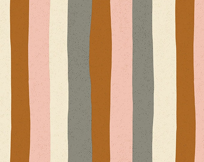 Stripes in Pink Lemonade from the Perennial Collection by Sarah Golden for Andover