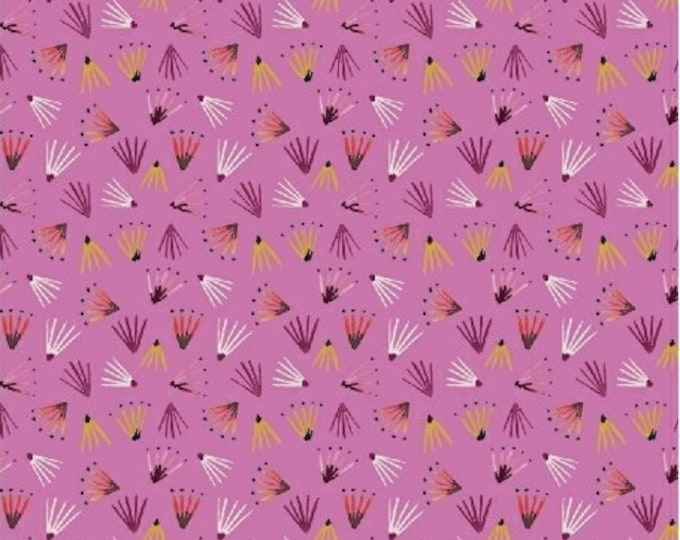 Seedlings in Pink from Field Day by Kelly Ventura for Windham Fabrics