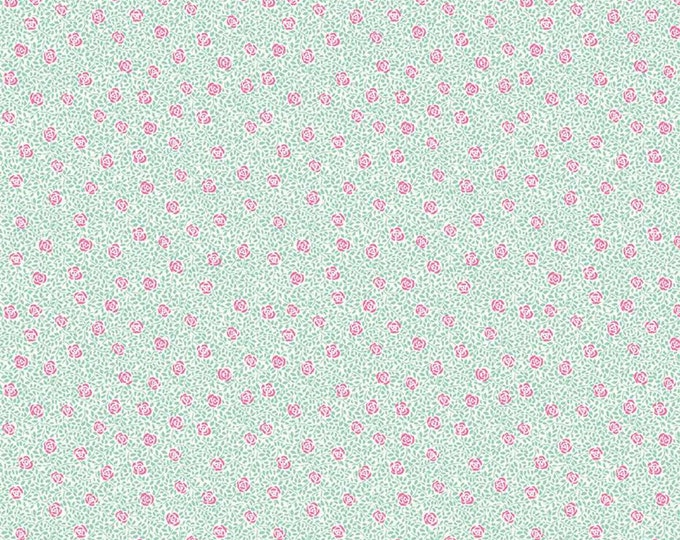 Speckled Rose from the Deco Dance Collection by Liberty Fabrics for Riley Blake Designs