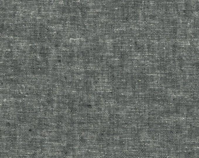 Essex Yarn Dyed in Black by Robert Kaufman