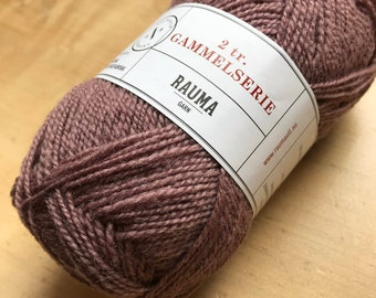 2 Ply Gammelserie in Dusty Rose by Rauma