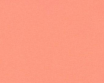 Kona Cotton in Creamsicle by Robert Kaufman