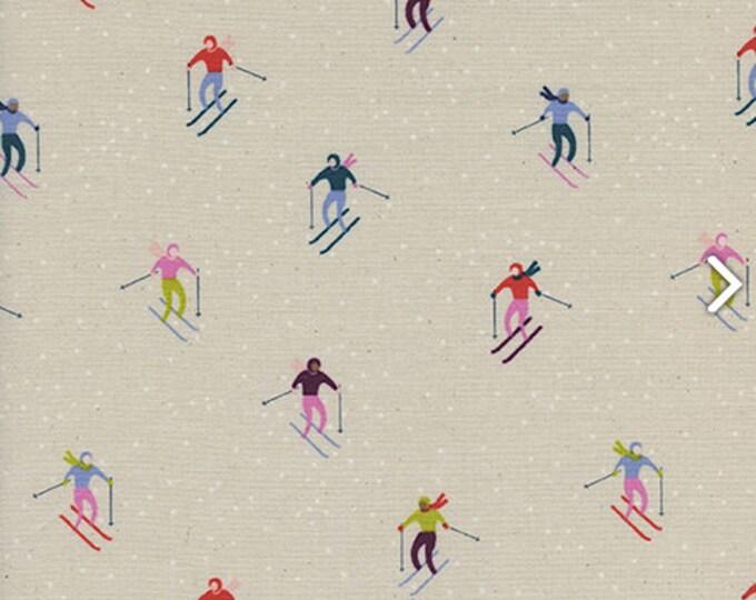 PRESALE: Ski Peeps in Neutral by Rashida Coleman-Hale for Cotton + Steel