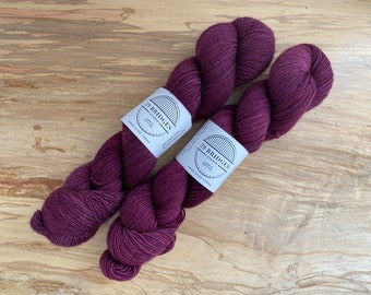 Sock Non-Superwash in Berry by 29 Bridges