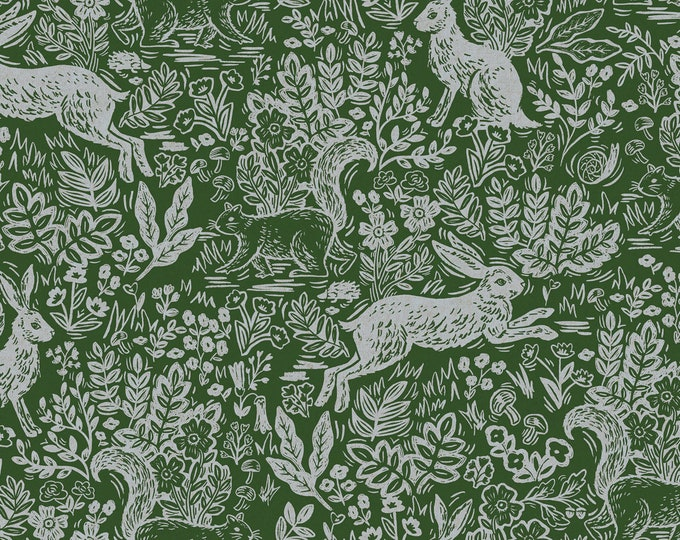 PRESALE: Fable in Leaf Canvas for Wildwood Collection by Rifle Paper Co.