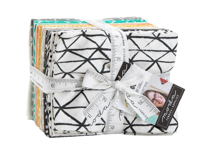 Fat Quarter Bundle from the Zoology Collection by Moda Fabrics