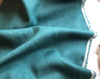 Japanese Linen in Emerald Green  by KOKKA