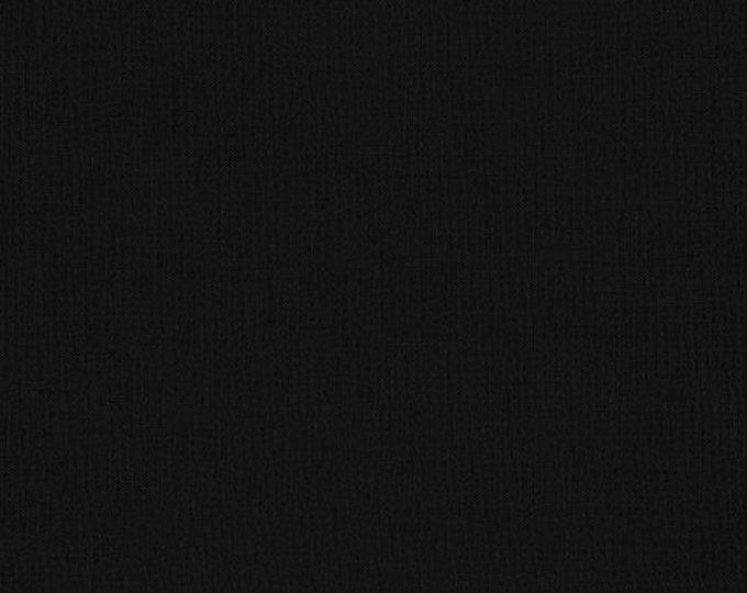 BLACK Kona Cotton by Robert Kaufman