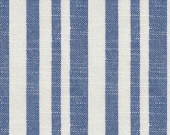 Woven Texture Stripe in Bluebell from the Warp & Weft Heirloom Wovens Collection by Alexia Marcelle Abegg for Ruby Star Society
