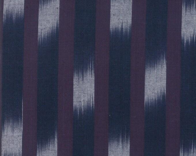 Boro Woven in Dark Indigo by Moda Fabrics