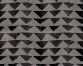 Little Mountain - Black Fabric  from Once Upon A Time by Cotton + Steel