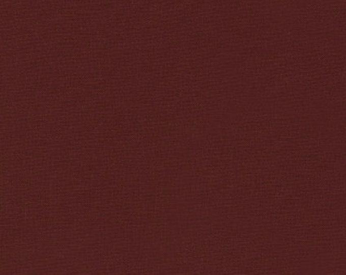 Kona Cotton in Cocoa by Robert Kaufman