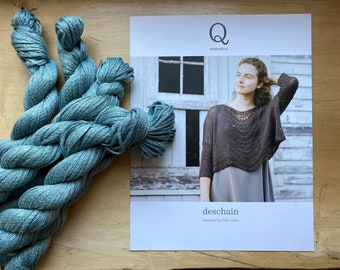 Knit Kit: Deschain Top by Leila Raabe for Quince and Co.
