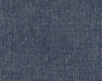 Essex Yarn Dyed Homespun in Navy by Robert Kaufman